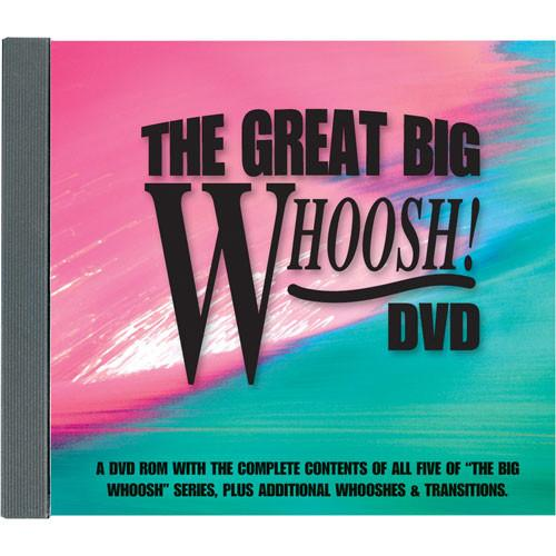 Sound Ideas The Great Big Whoosh Production SI-BIGWHSH-DVD