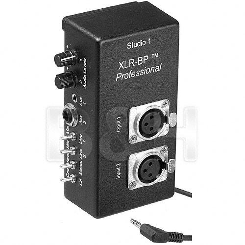 Studio 1 Productions XLR-BP Pro - Belt Clip XLR Adapter XLRBPPRO