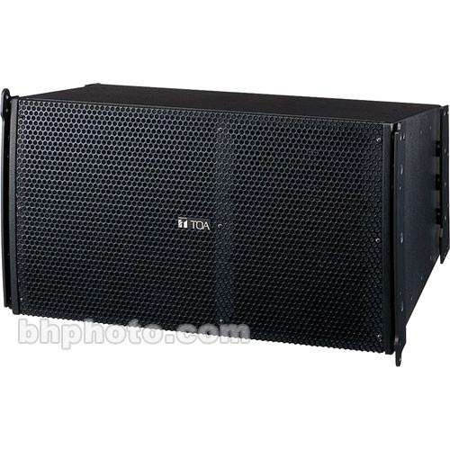 Toa Electronics SRA12S Mid-Sized Line Array Speakers SR-A12S