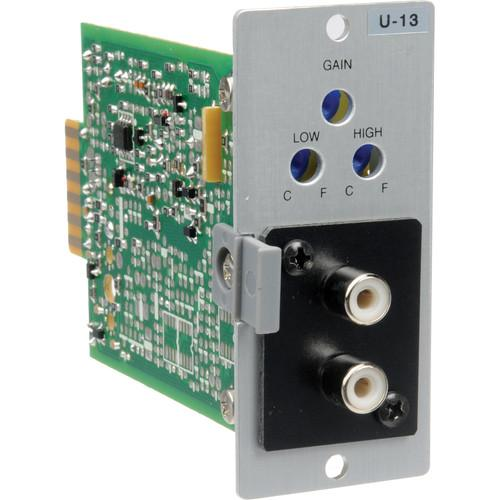 Toa Electronics U-13R - Unbalanced Line Input w/ High/Low U-13R