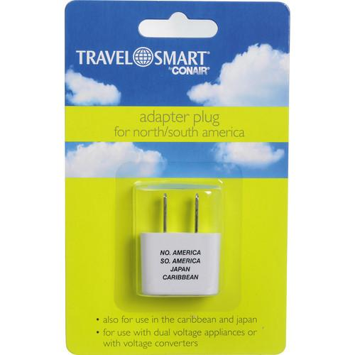 Travel Smart by Conair Adapter Plug For North / South NW3C