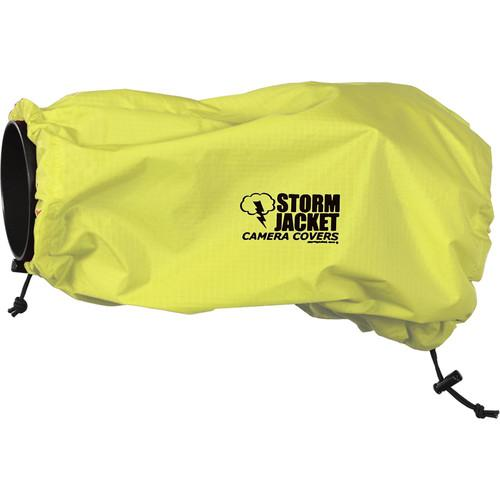 Vortex Media SLR Storm Jacket Camera Cover, Small (Yellow)
