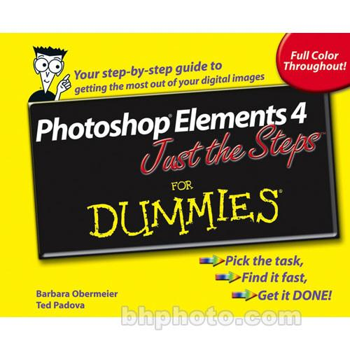 Wiley Publications Book: Photoshop Elements 4 Just 9780764574788