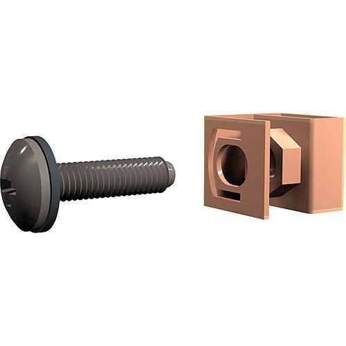 Winsted G8104 Panel Bolts and Clips with Captive Nuts G8104
