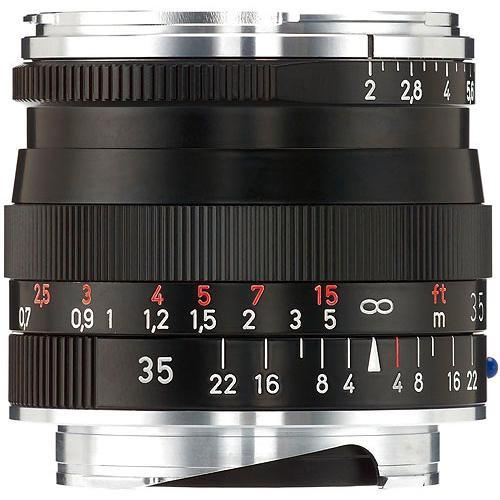 Zeiss 35mm f/2 ZM Biogon T* Manual Focus Lens ( Black) 1365-659