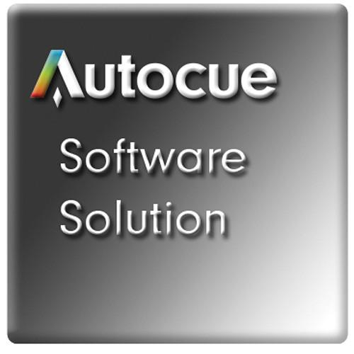 Autocue/QTV QStart Teleprompting Software for Mac SW-QSTARTM