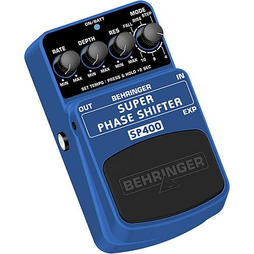 Behringer SUPER PHASE SHIFTER SP400 Ultimate Phase Shifter SP400