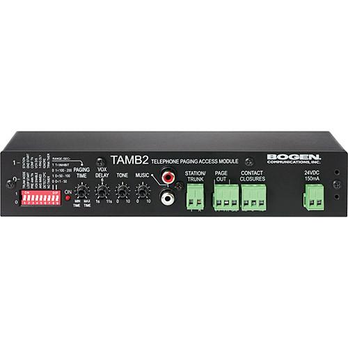 Bogen Communications TAMB2 Telephone Access Module TAMB2