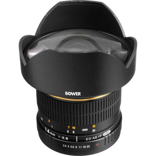 Bower 14mm f/2.8 Ultra Wide Angle Manual Focus Lens SLY14MMF2.8S