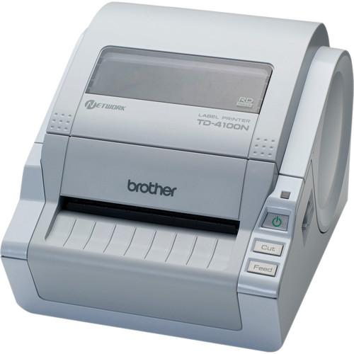 Brother TD-4100N Desktop Bar Code Network Printer TD4100N