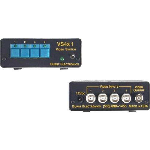 Burst Electronics VS4x1 Four Input Active Switcher VS4X1