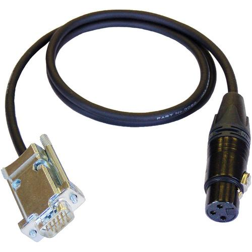 Cable Techniques CT-DE15/1 3-Pin XLR-F to DE-15 CT-DE15/1