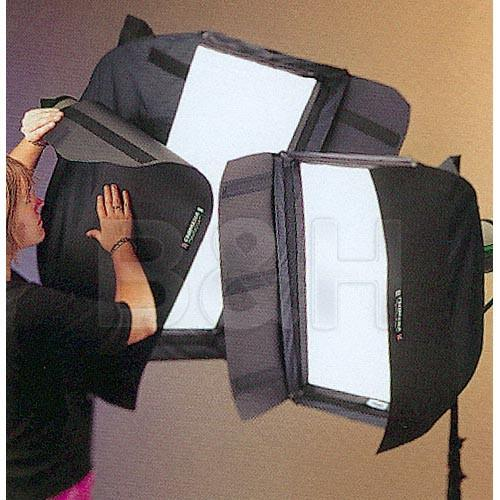 Chimera Barn Doors for Long Side of Small Strip Softbox 3220