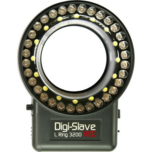 Digi-Slave L-Ring 3200 LED Ring Light (Red) LRU3200R