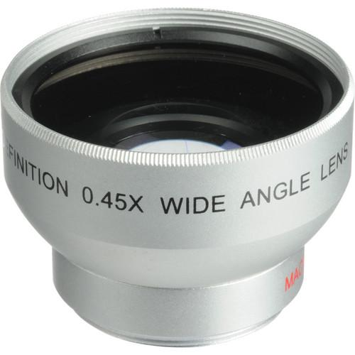 Digital Concepts 0.45x Wide-Angle Lens (30mm, Silver) 1830W