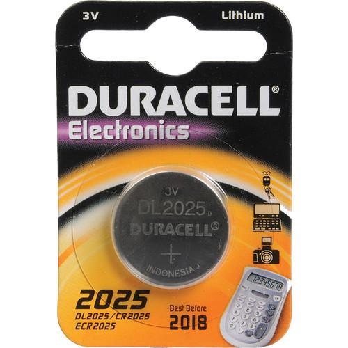 Duracell CR2025 3V Lithium Battery (160MAh) DL2025B