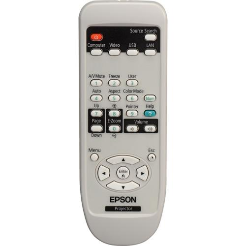 Epson 1519442 Remote Control For PowerLite 84, 85, 825 1519442