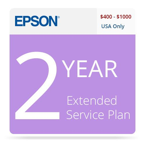 Epson 2-Year U.S. Extended Service Contract EPPSNPIJE2