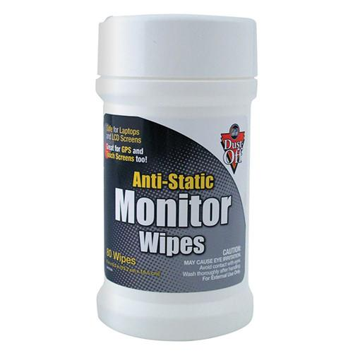 Falcon  Anti Static Monitor Wipes (80 Count) DSCT