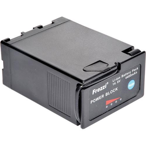 Frezzi PB-65 14.8V 65Wh Power Block Battery with Meter 93106