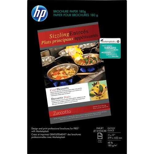 HP  Brochure and Flyer Paper for Inkjet CG932A