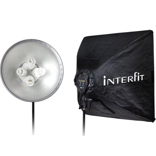 Interfit Super Cool-lite 4 One-Head Fluorescent Kit INT291