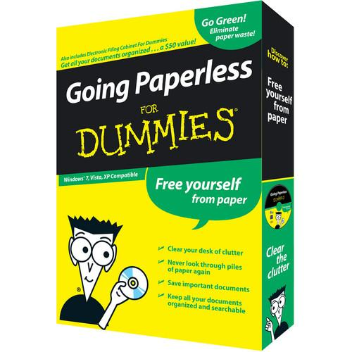 IRIS  CD-Rom: Going Paperless for Dummies 456849