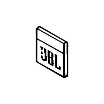 JBL 950-0007 Blank Logo for Control 25 (White) 950-00007-WH