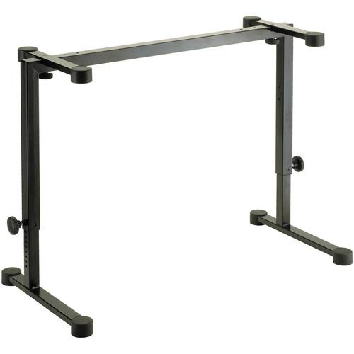 K&M 18810 Omega Table-Style Keyboard Stand (Black) 18810-000-55