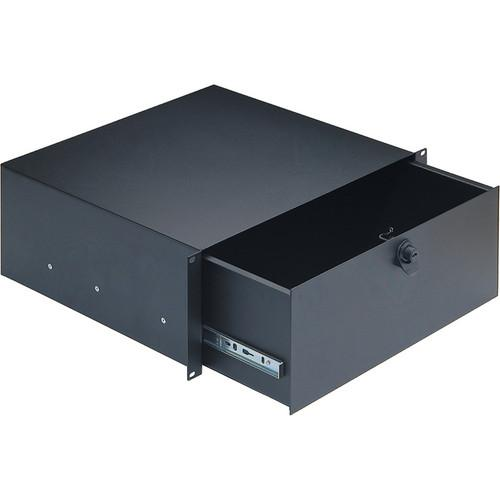 K&M  491/4 4 space Rackmount Storage 49124-074-55