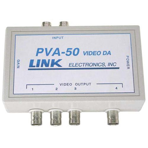 Link Electronics PVA-50/P Video Distribution Amplifier PVA-50/P