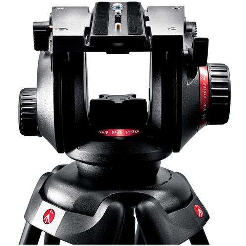 Manfrotto Manfrotto 504HD Video Fluid Head w/ 536 4-Section
