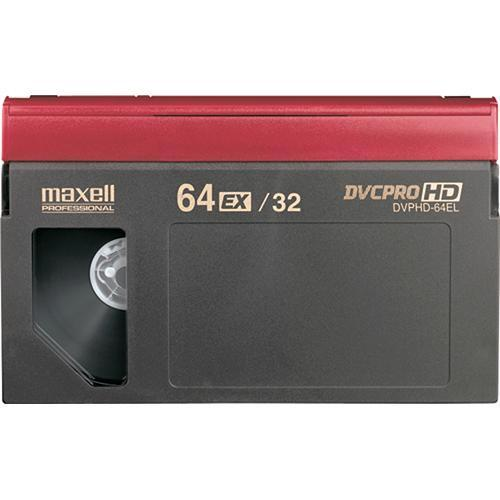 Maxell DVP-64EL DVCPRO HD Video Cassette (Large) 227734
