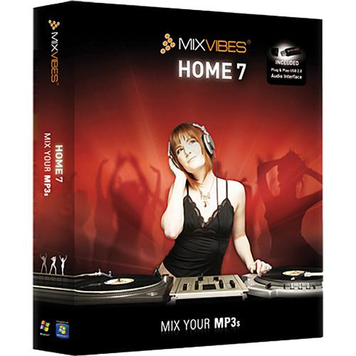 Mixvibes MixVibes HOME Edition 7 DJ Software HOME 7