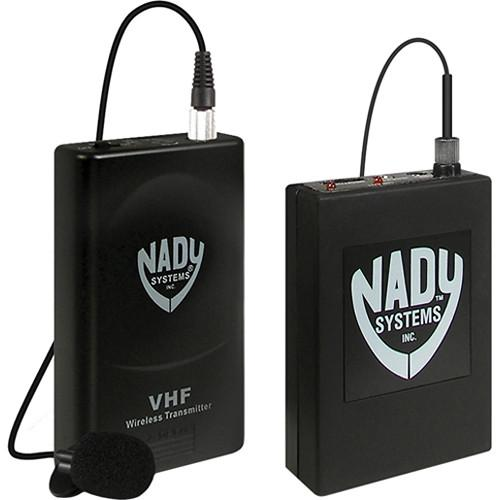 Nady 351VR VHF Wireless Lavalier Microphone System 351VR LT/O/D