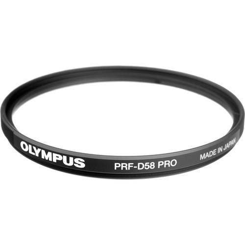 Olympus 58mm PRF-D58 PRO Clear Protective Filter 260296