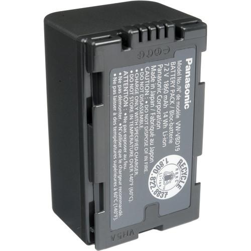 Panasonic VW-VBD19PPK Lithium-Ion Snap On Battery VW-VBD19PPK