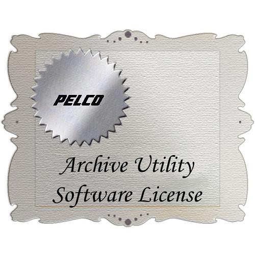 Pelco Archive Utility Server Software License AUSVR-SW-1L