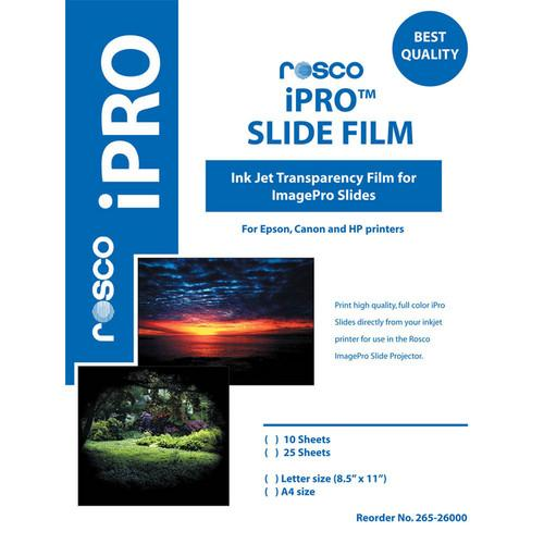 Rosco iPro Slide Film (25 Sheet Pack/A4 Size) 26527995A425