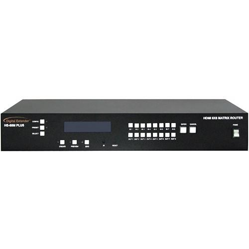 RTcom USA HS-88M PLUS HDMI Matrix Router HS-88M PLUS