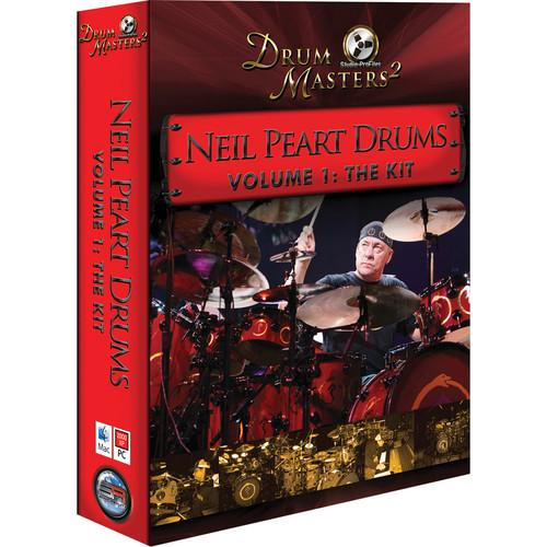 Sonic Reality Neil Peart Drums Vol 1: The Kit - SR-NPKIT-DL02