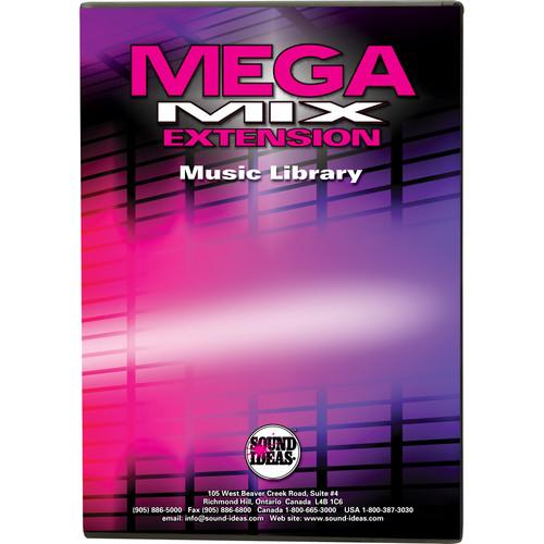 Sound Ideas MegaMix Extension - Royalty Free Music M-MEGAMIX-1