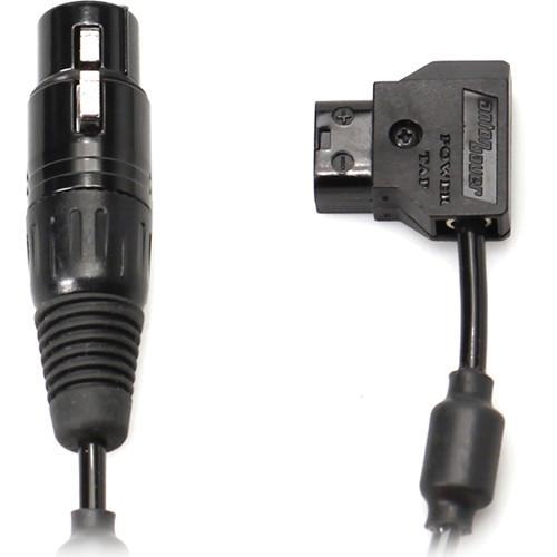 Transvideo XLR4 Female to Anton-Bauer 2 Power Cable 906TS0016