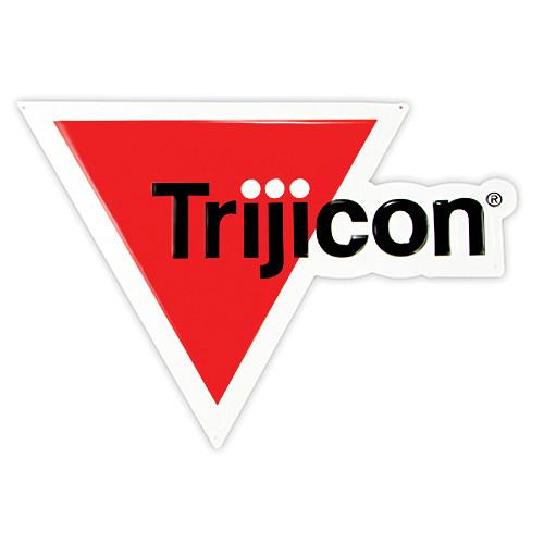 Trijicon Die-Cut/Embossed Aluminum 3/C Logo Sign PR43