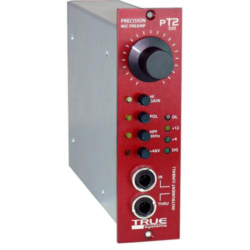 True Systems PT2-500 - Microphone Preamp and Instrument USPT2500