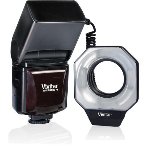 Vivitar DF-586 Dedicated Macro Ring Flash for Canon DF586CAN