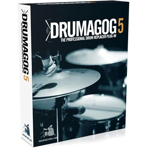 WaveMachine Labs Drumagog 5.0 Pro - Drum Replacer Plug-In DG5PRO