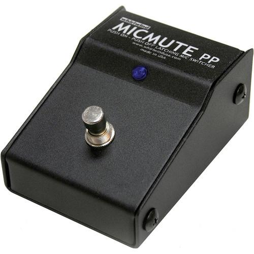 Whirlwind Micmute PP Push-On/Push-Off Audio Switch MICMUTE-PP
