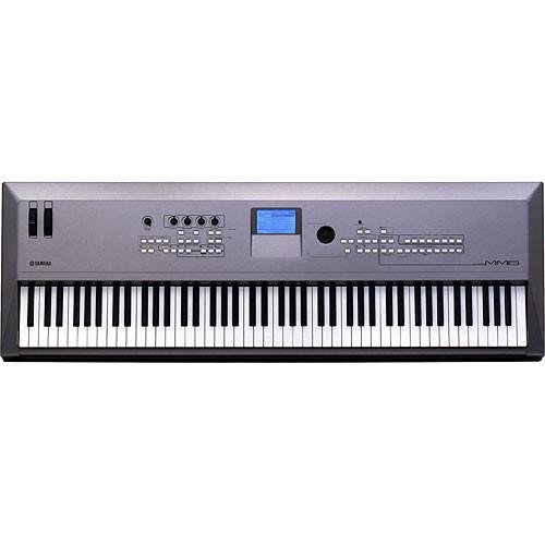 Yamaha MM8 88-Key Synthesizer Keyboard Value Bundle Kit