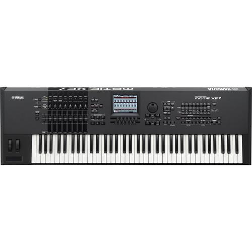 Yamaha  MOTIF XF7 Workstation Keyboard MOTIFXF7